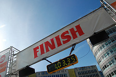 finish line photo