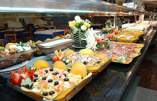 buffet photo