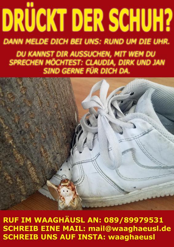 Drueckt der Schuh?